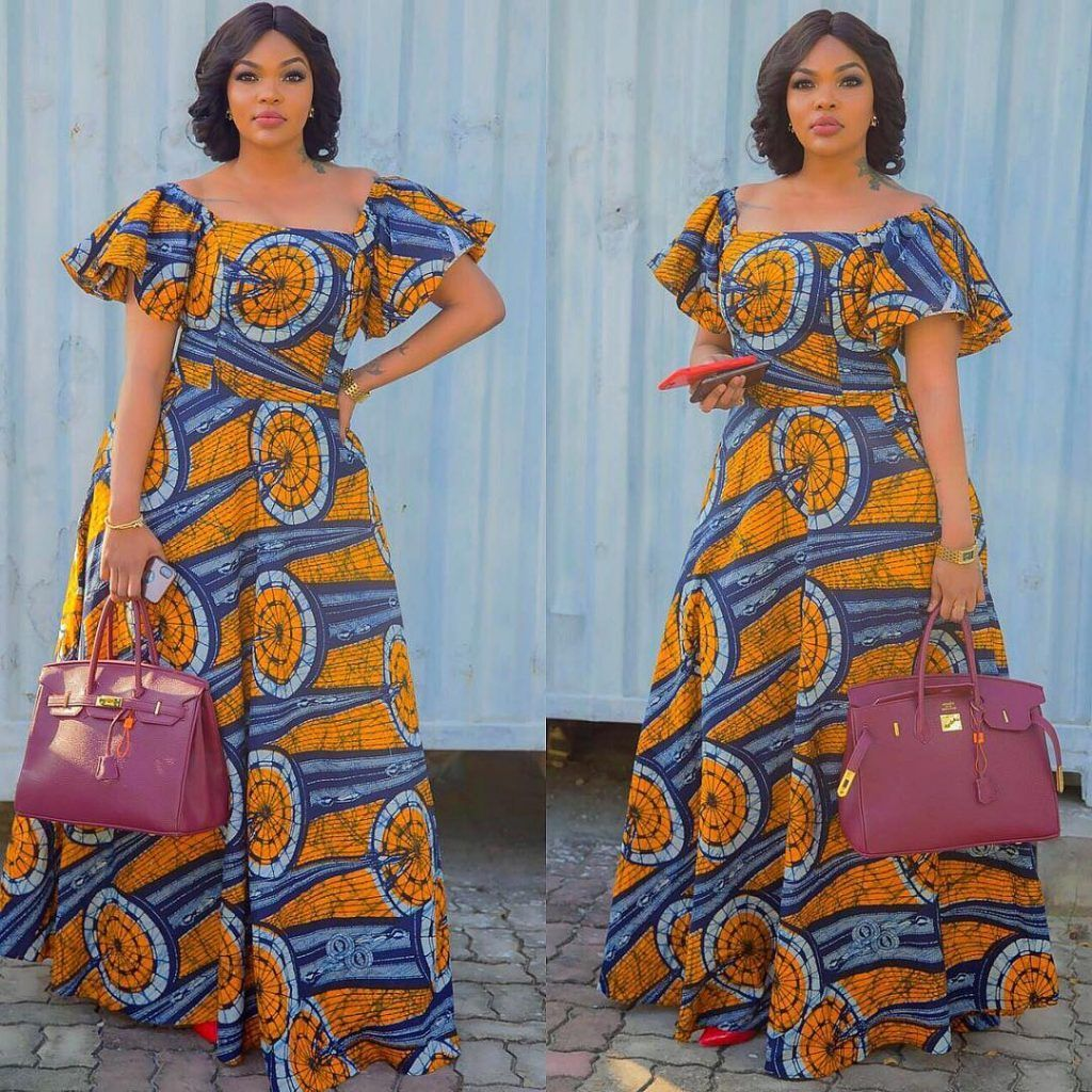 modèle robe pagne africain … | Pinteres…