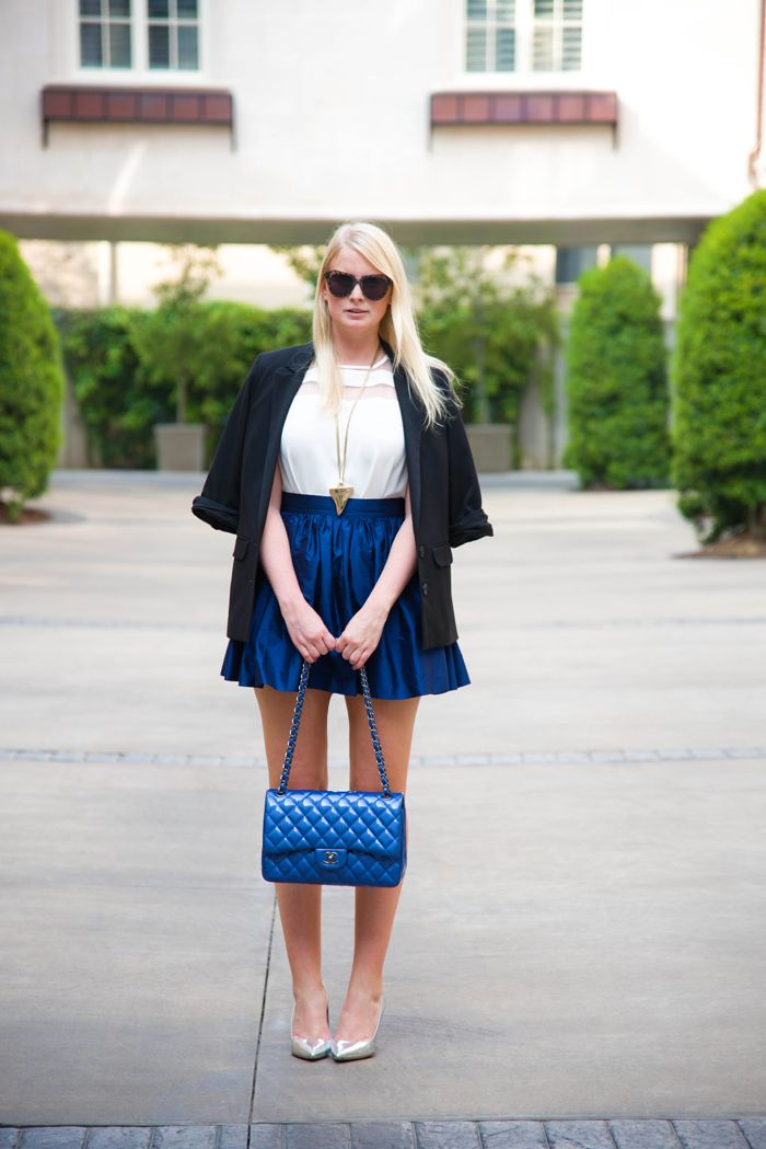 Blue on Blue | The Style Scribe