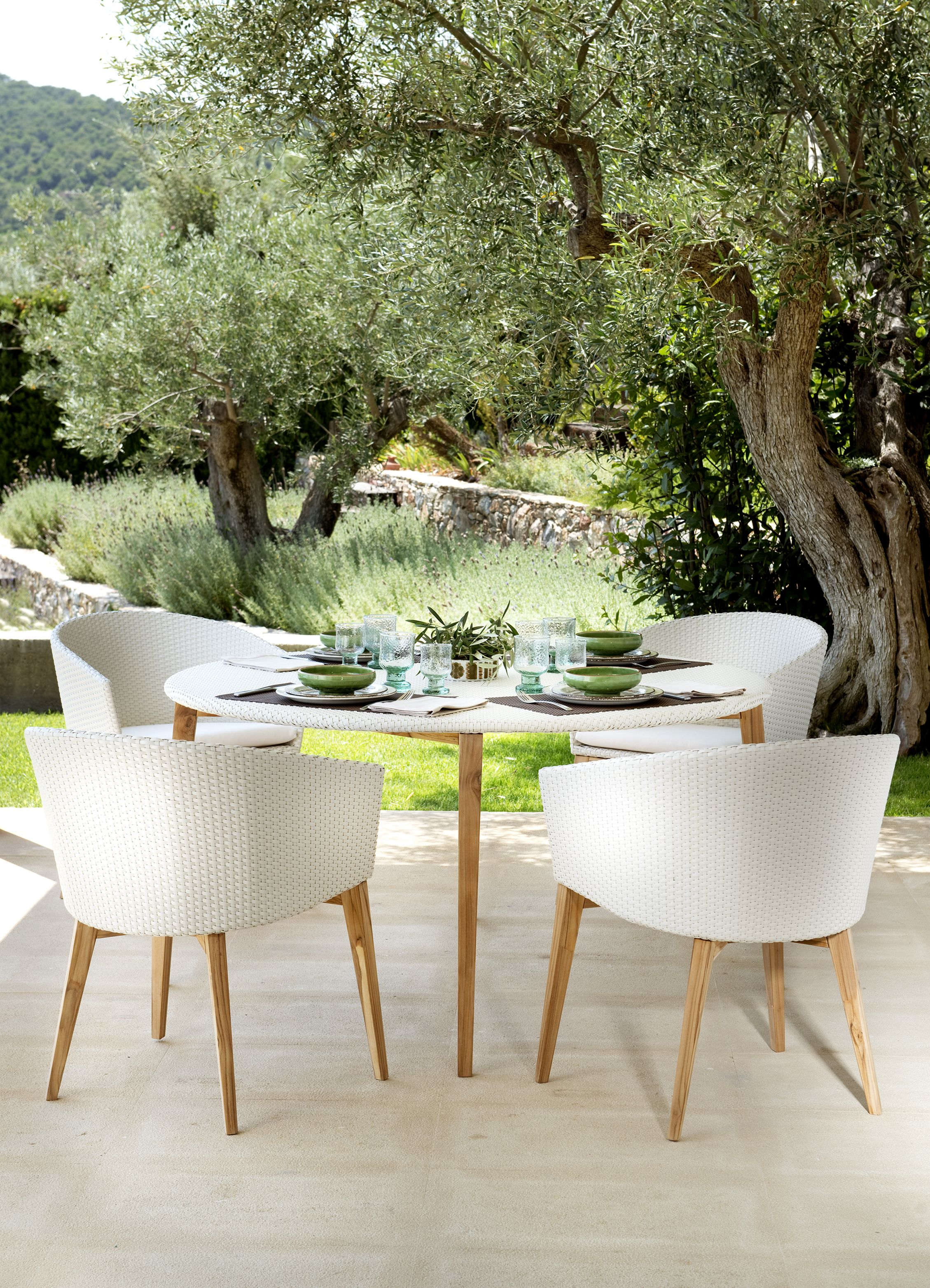 Arc Garden Dining Table Outdoor Furniture Decor Luxury Outdoor Furniture Modern Outdoor Furniture