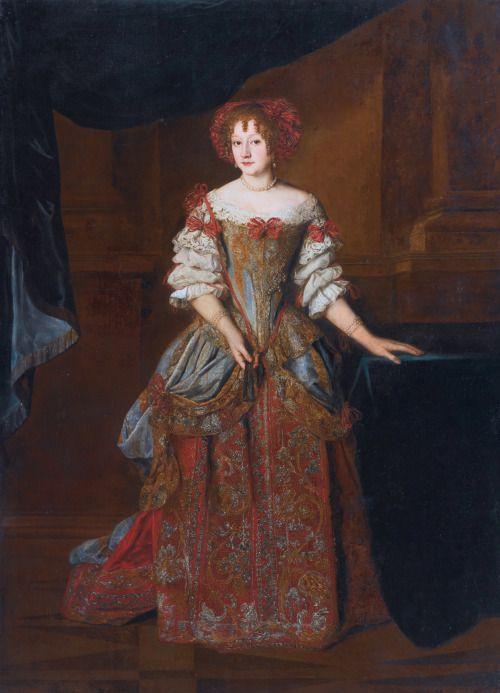 Portrait of Princess Teresa Pamphilj Cybo, Jacob-Ferdinand Voet, 1675
