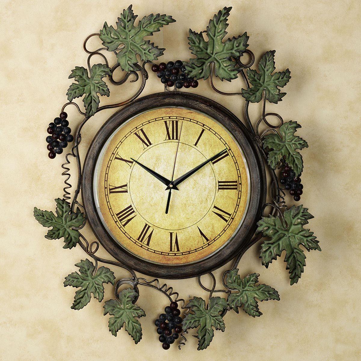 Clocks for Kitchen Wall | Clocks | Pinterest | Kitchen wall clocks ...
