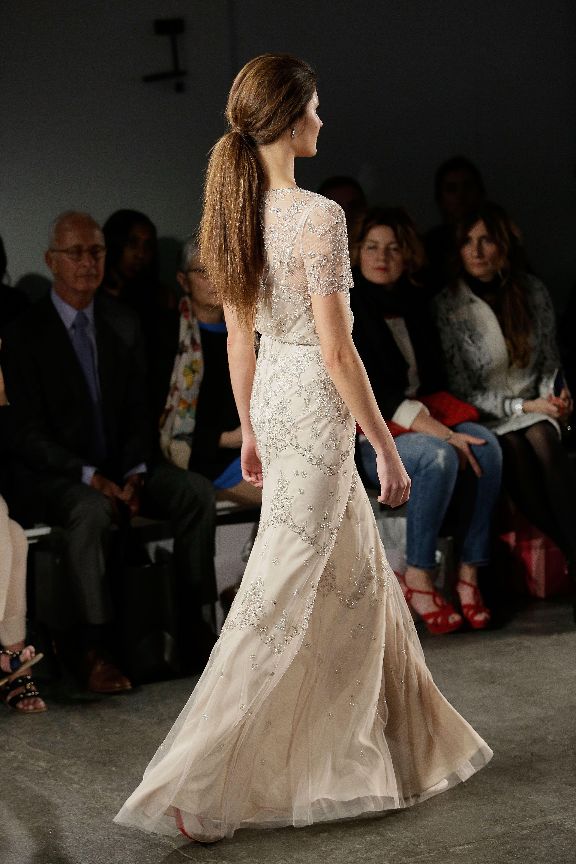 Jenny Packham 2015 Bridal Collection - Leila Wedding Dress (Back ...