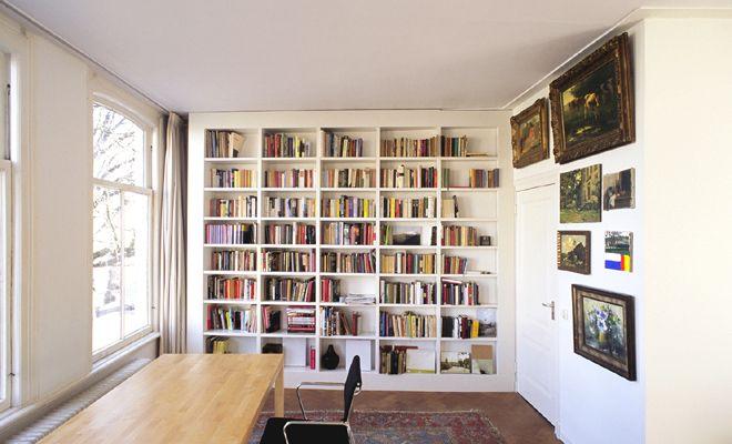 Boekenkast in wand | Home | Pinterest