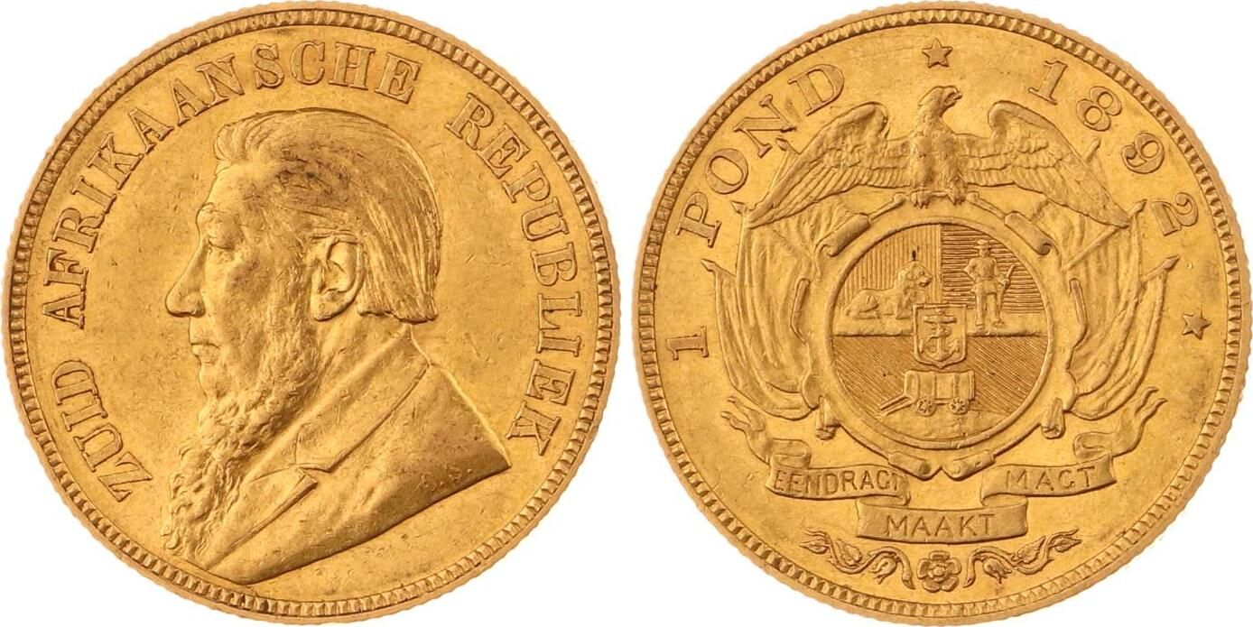 Pond Gold 1892 South Africa
