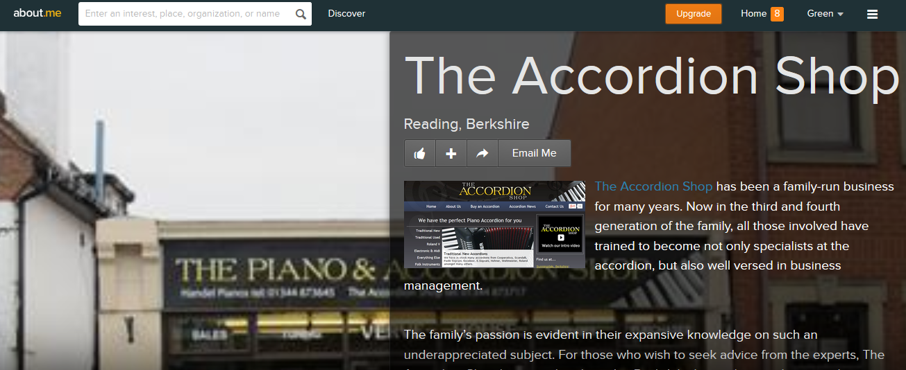 the accordion shop