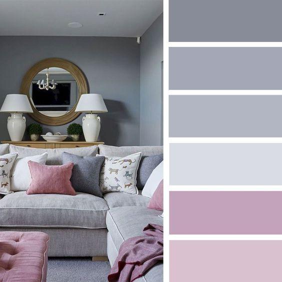 Colores de moda para paredes de sala home decor - Colores de moda en paredes ...