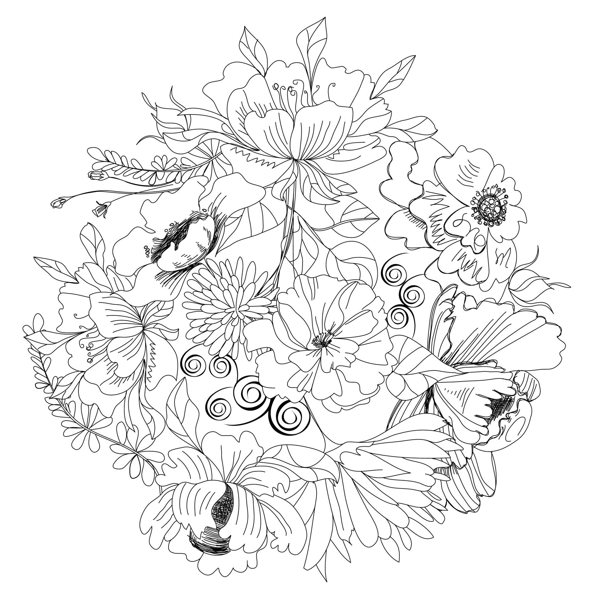 Pin By Geri Acosta On Adults Coloring Pages Coloring