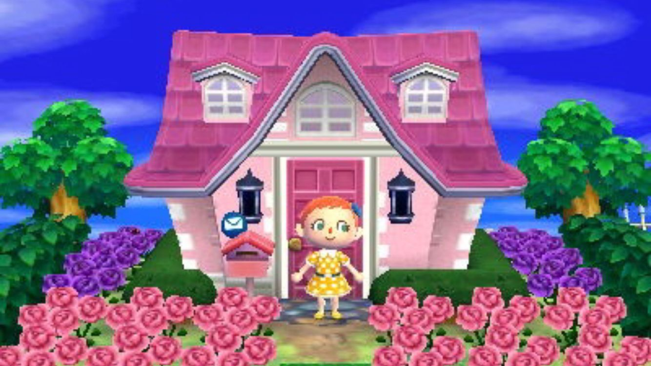 Animal Crossing New Leaf House Exterior Acnl Outside Pinterest Animal Crossing Qr