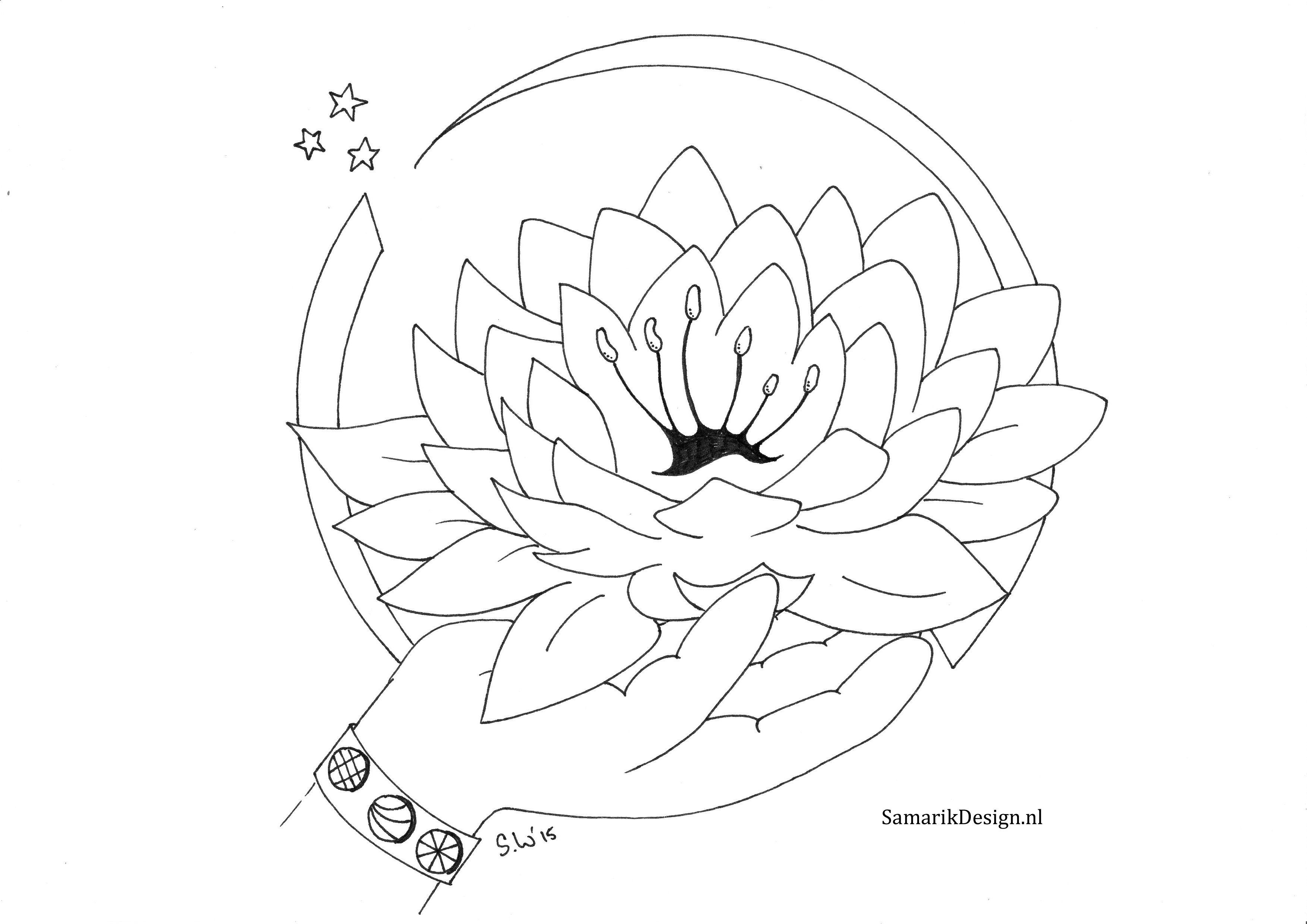 Kleurplaat Voor Volwassenen Lotus Kleurplaten Kleurplaten Voor Volwassenen Kleuren