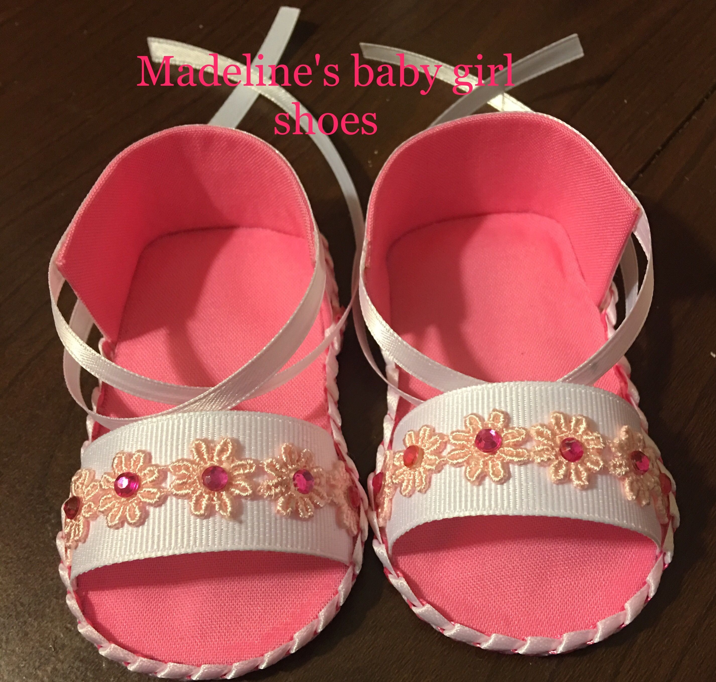 Handmade baby shoes size 3 6 months $15