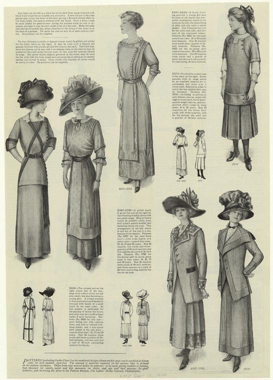 0c54b521c4eec From Ladies' Home Journal, September 1910.