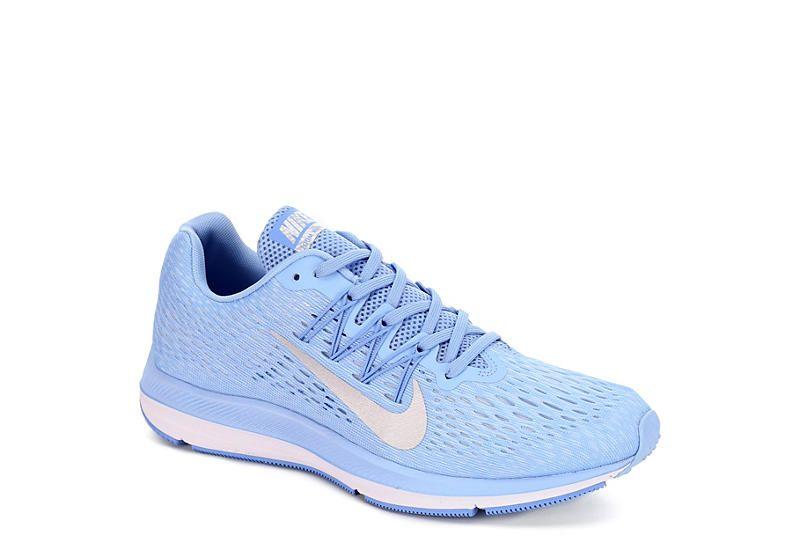 BLUE NIKE Womens Zoom Winflo 5 Running
