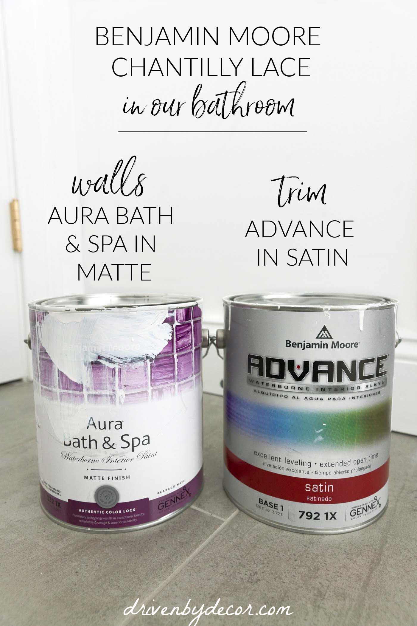 Benjamin Moore Chantilly Lace + Tips on Trim Color, Sheen ...