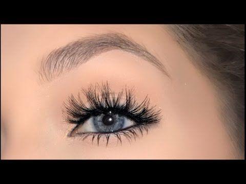 How to Apply False Eyelashes for Beginners - YouTube P R O ...