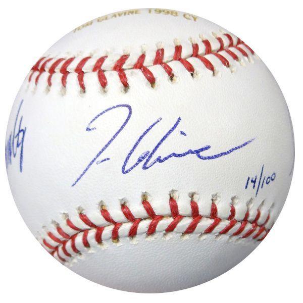 Greg Maddux John Smoltz Tom Glavine Autographed Mlb Baseball Braves Jsa Mlb Baseball Autograph Braves