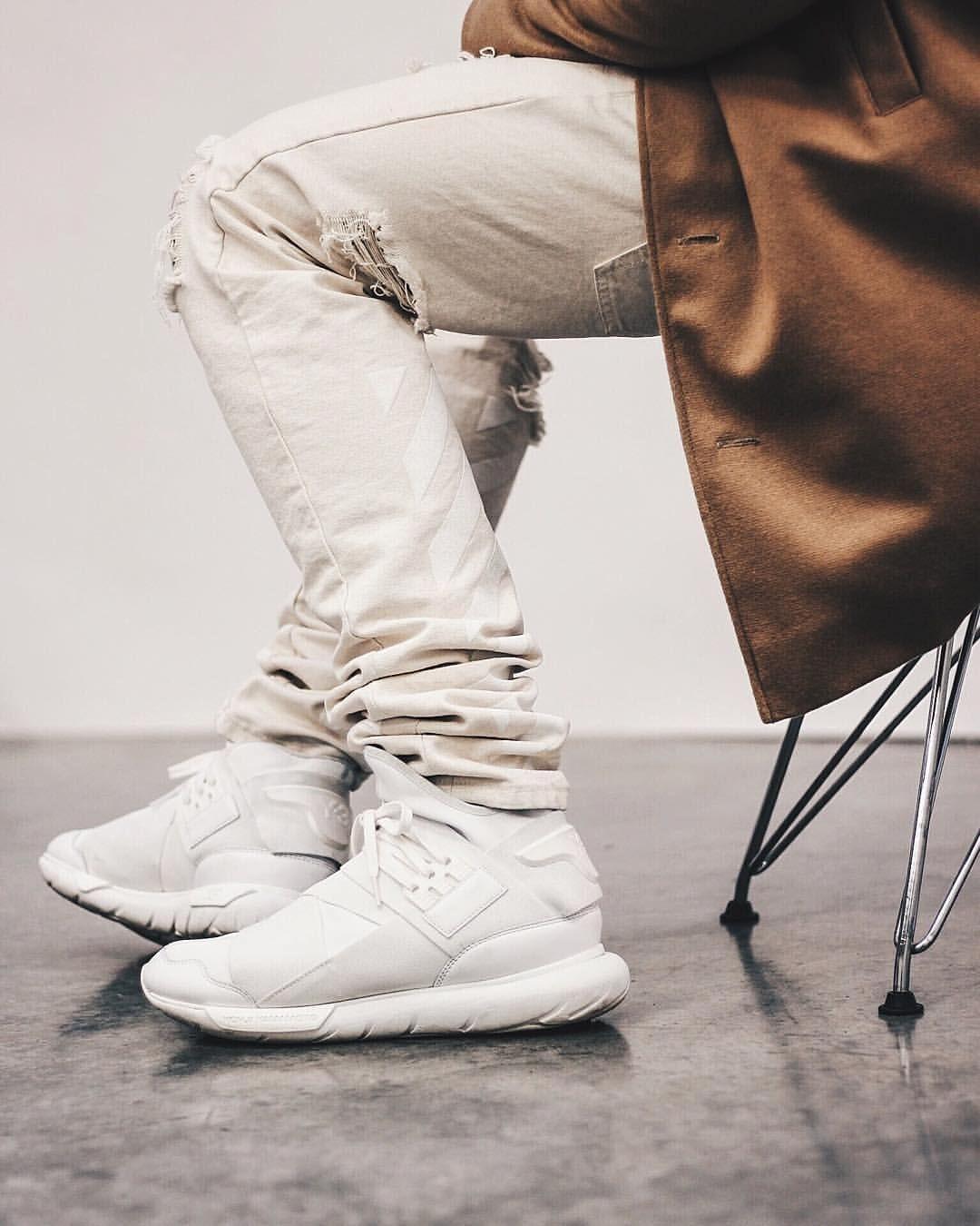 Adidas Y-3 Qasa: Off White