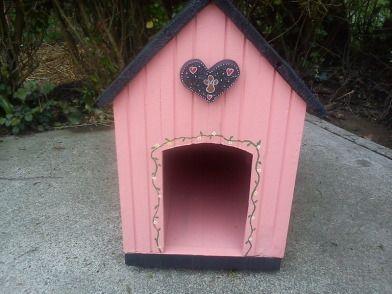 Pink Dog House Pink Dog Pallet Dog House Pet Accessories