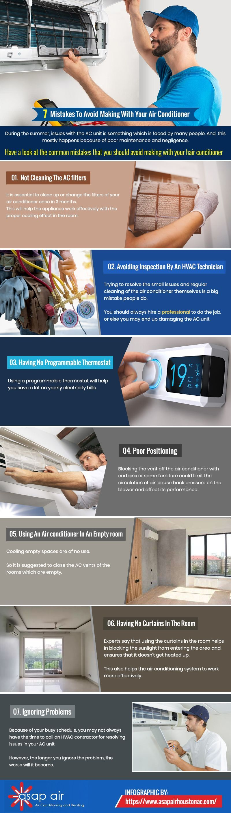 7 Mistakes To Avoid Making With Your Air Conditioner in