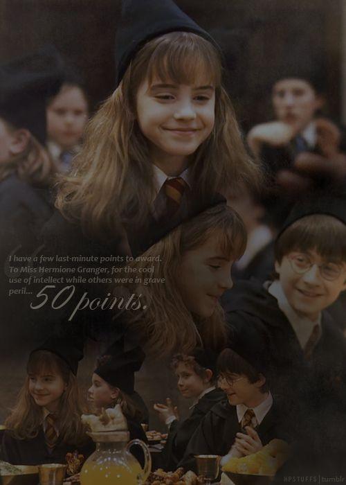 Harry Potter Sorcerer S Stone End Scene Harry Potter Scene Harry Potter Hermione Harry Potter Universal