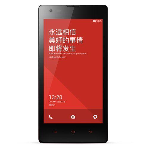 Smartphone Xiaomi RED MI1 S, 4.7'',Procesador Snapdragon,Andorid 4.3, 1.6Ghz,DualSim, 8GB, Cámara 1.6MP NEGRO