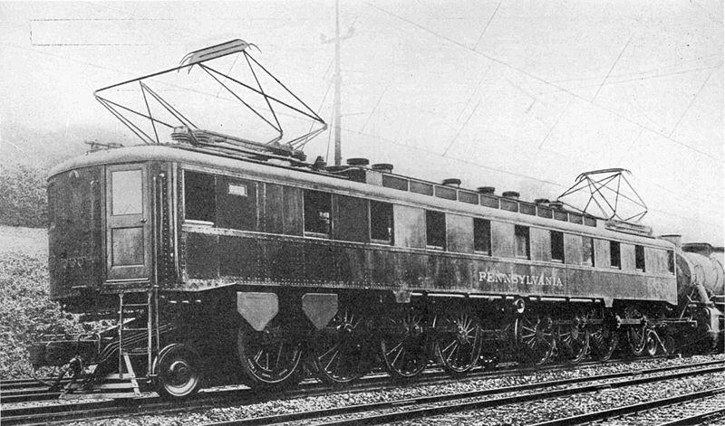 PRR FF1 experimental engine Electric
