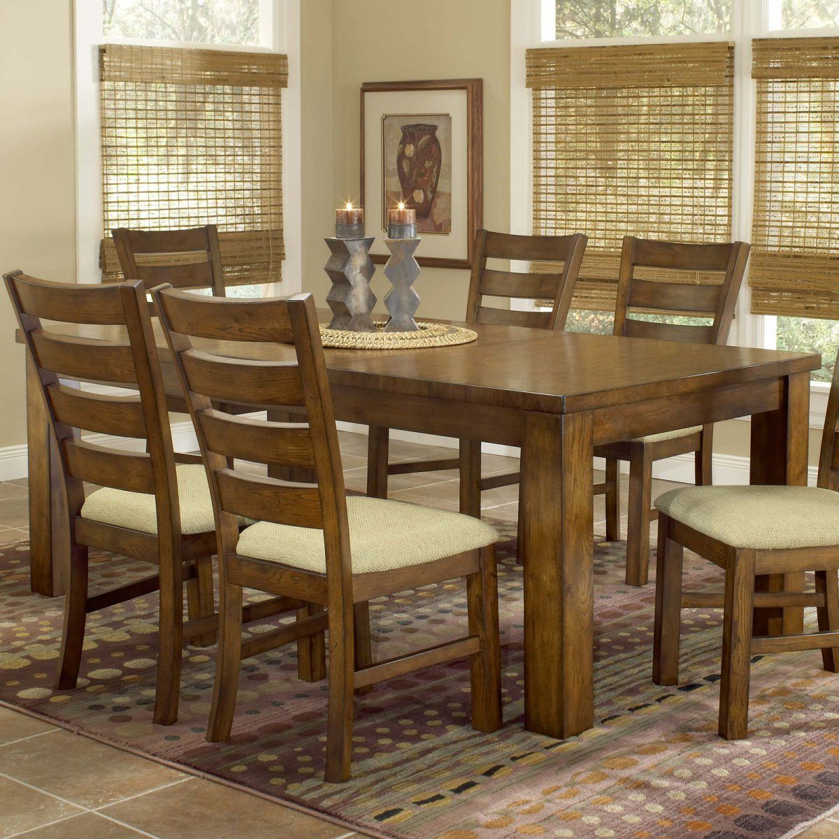 2019 Solid Wood Dining Table Chairs