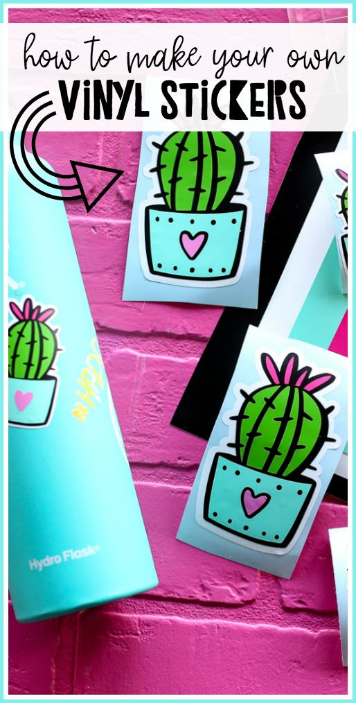 How To Make Vinyl Stickers With Images How To Make Stickers