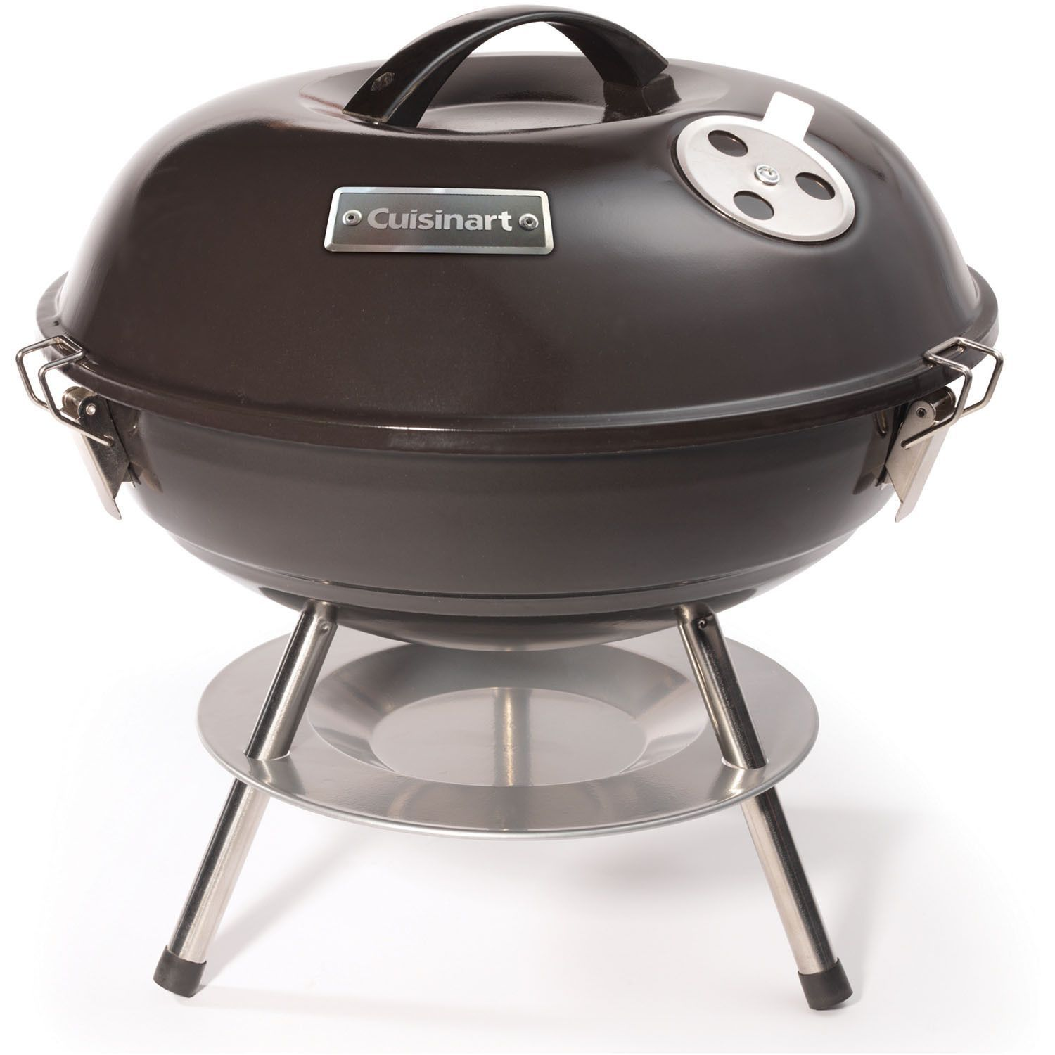 Cuisinart Black 14 Inch Portable Charcoal Grill Black Charcoal Grill Portable Charcoal Grill Grilling