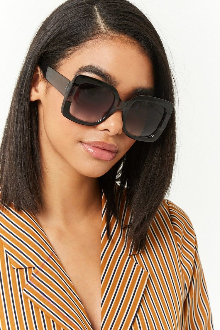 Plisado Pacer Tendencia  Lentes De Sol Cuadrados | Trendy glasses, Sunglasses, Square sunglasses  women