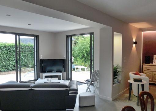 Une extension ossature bois lydie gatignol id es for Extension maison 59