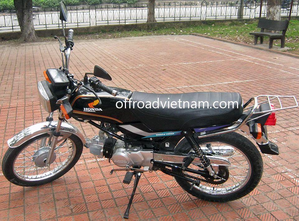 Honda Win 100cc Hire Hanoi Offroad Vietnam Motorbike Adventures Mobil