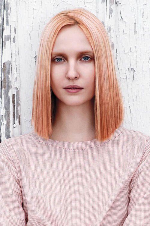 Orange Blonde Erdbeerblond Haar Frisuren Rosa Haare 및 Haarfrisuren