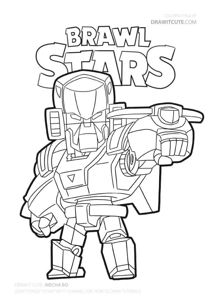 Pin By Jukaka On Brawl Stars Star Coloring Pages Coloring Pages Pokemon Coloring Pages
