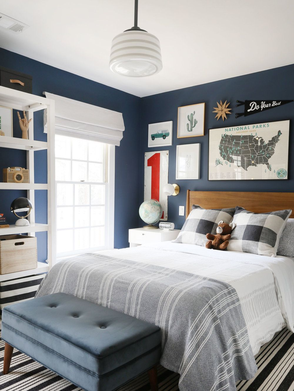 A bold, playful and out of this world kid's room images
