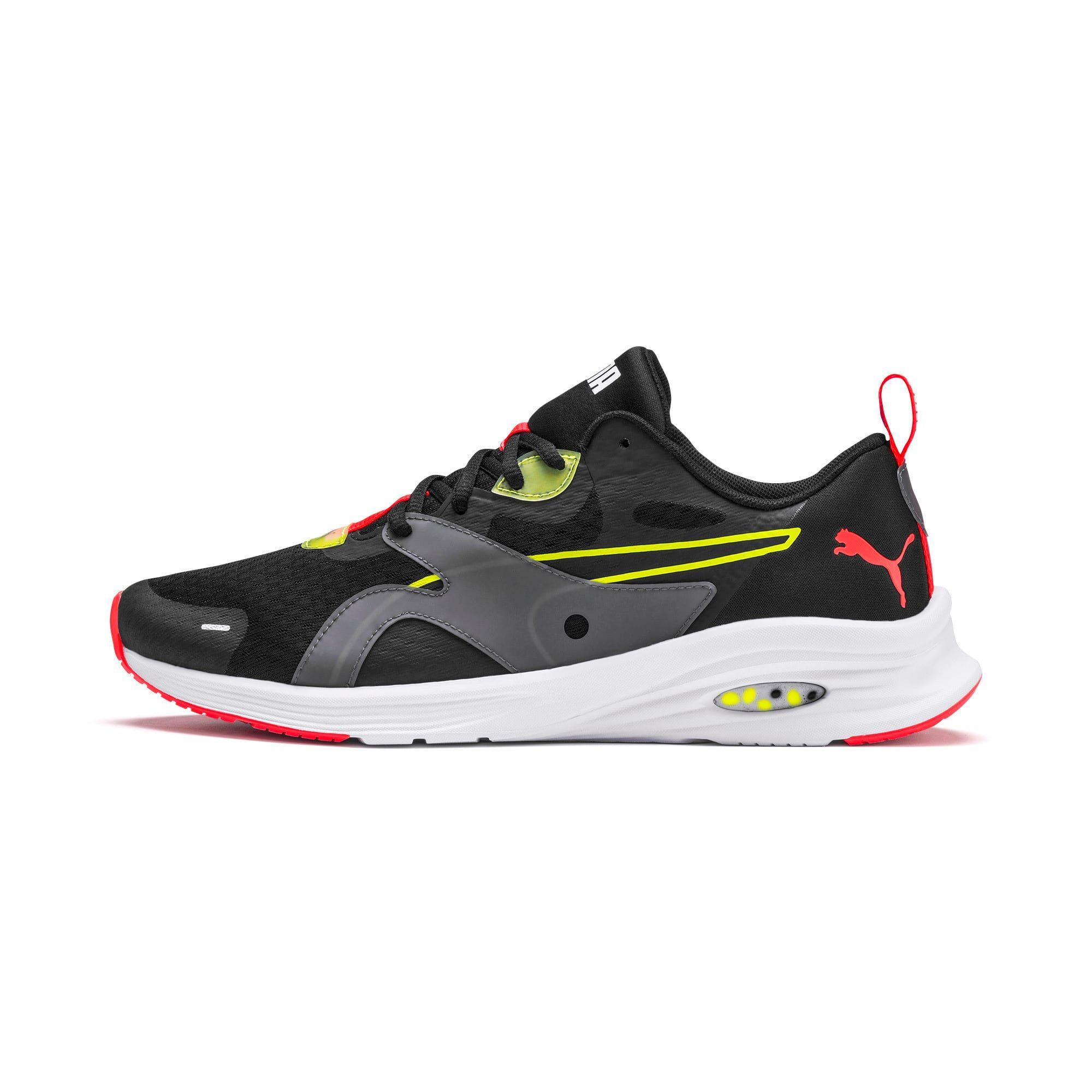 PUMA Hybrid Fuego Men's Running Shoes in Black/Yellow Alert size 10.5 #stylishmen