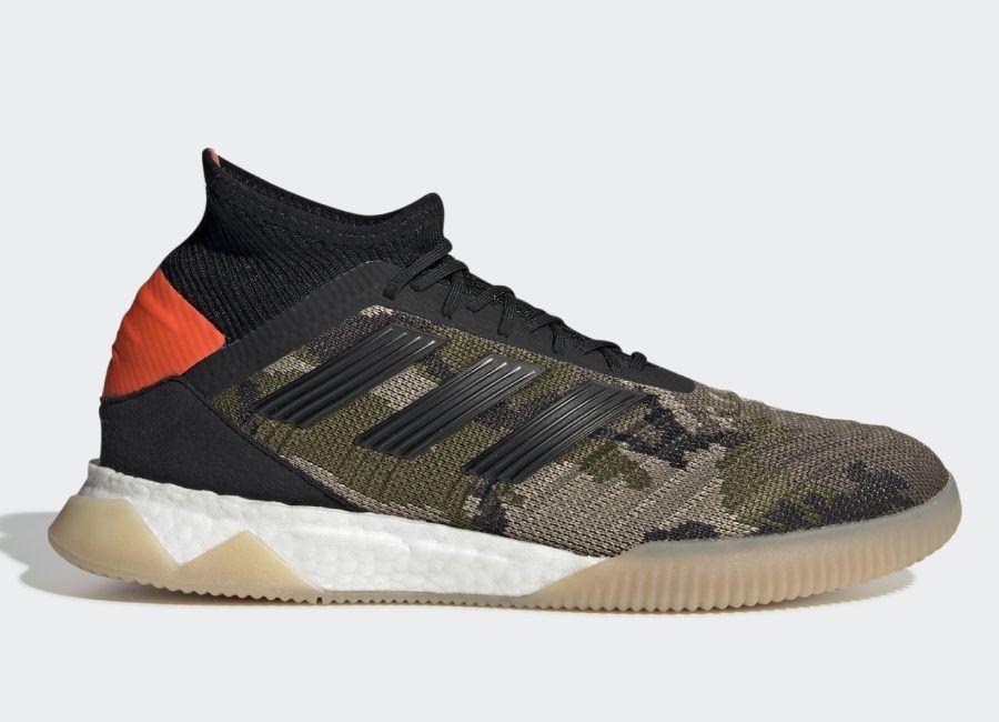 Adidas predator 191 trainers trace khaki core black