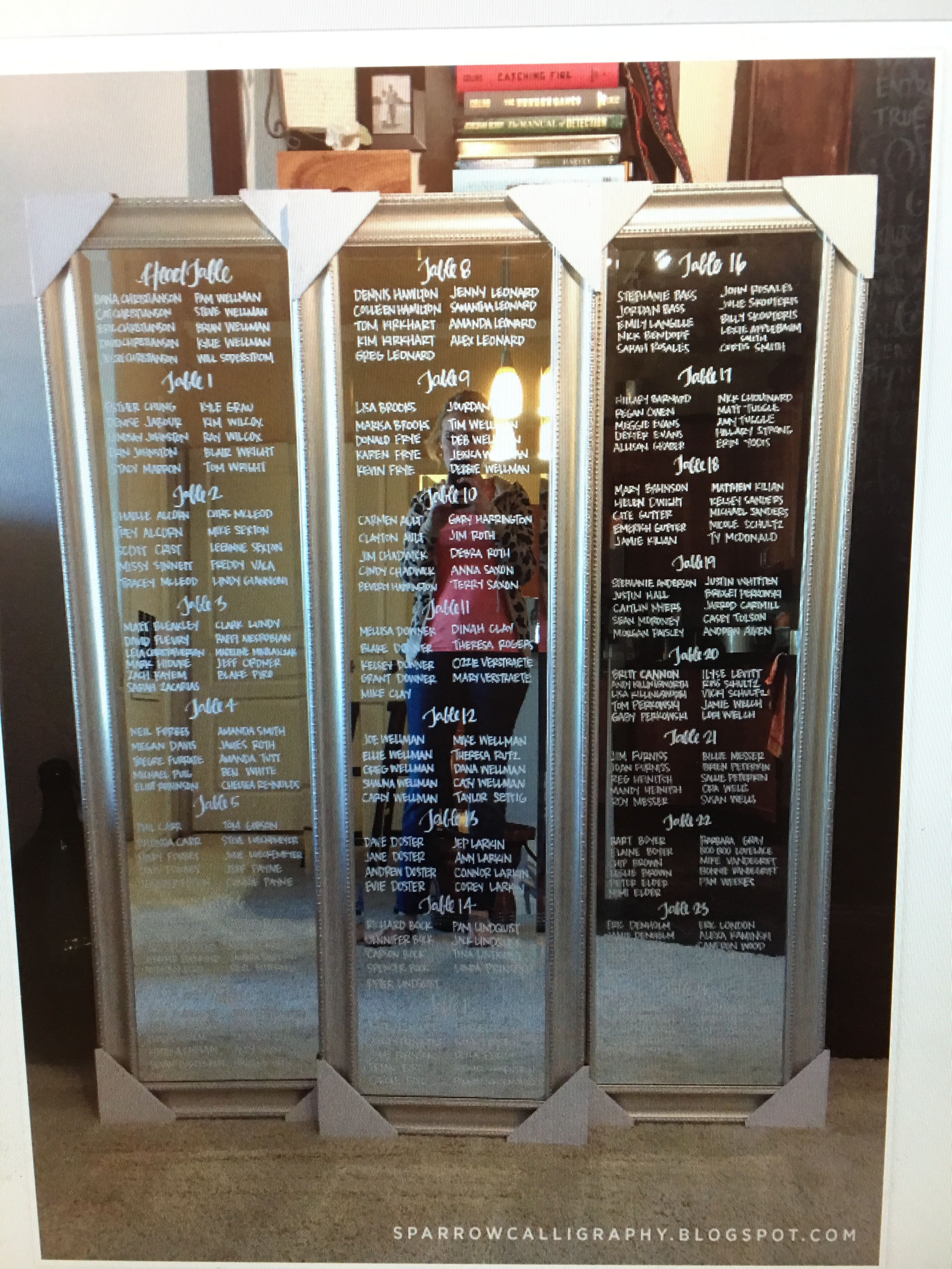Mirror seating chart … Mirror seating chart, Seating