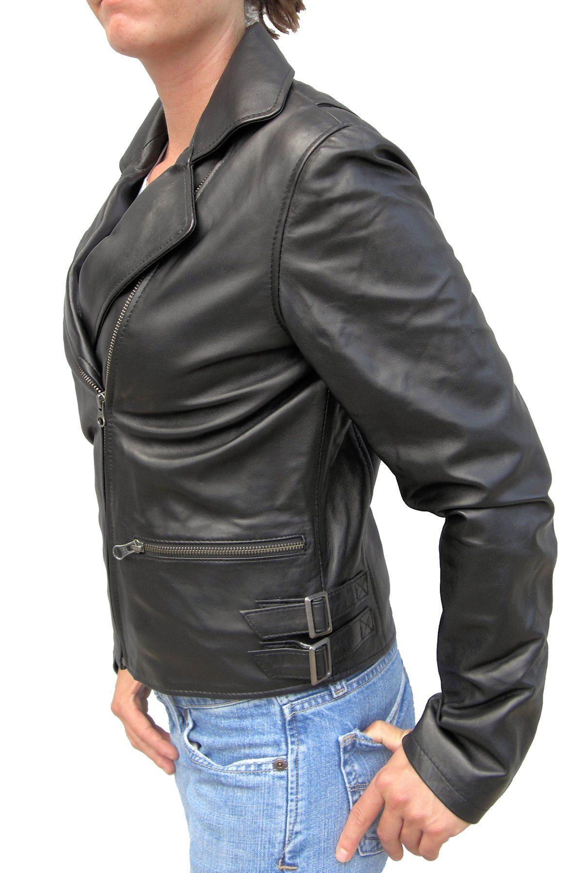 Ladies stylish motorcycle clothing new photo