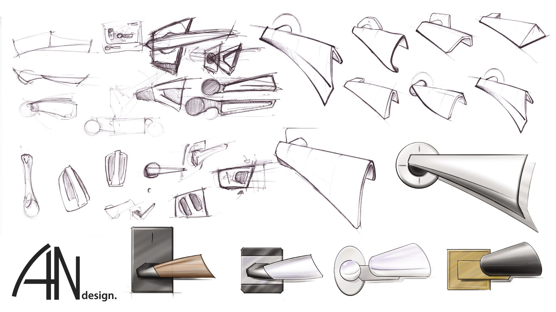 Door handle sketch iskanje google door pinterest for Door design ergonomics