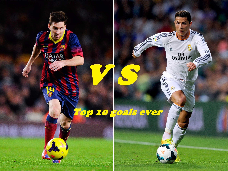 Cristiano Ronaldo Vs Lionel Messi Top 10 Goals 2015 2016 Messi Vs Rona Messi Vs Ronaldo Ronaldo Messi Vs