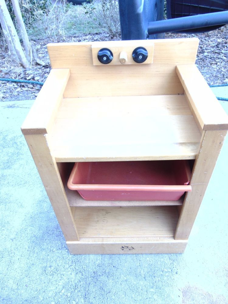 COMMUNITY PLAYTHINGS KITCHEN SINK WOOD WOODEN PRETEND PLAY