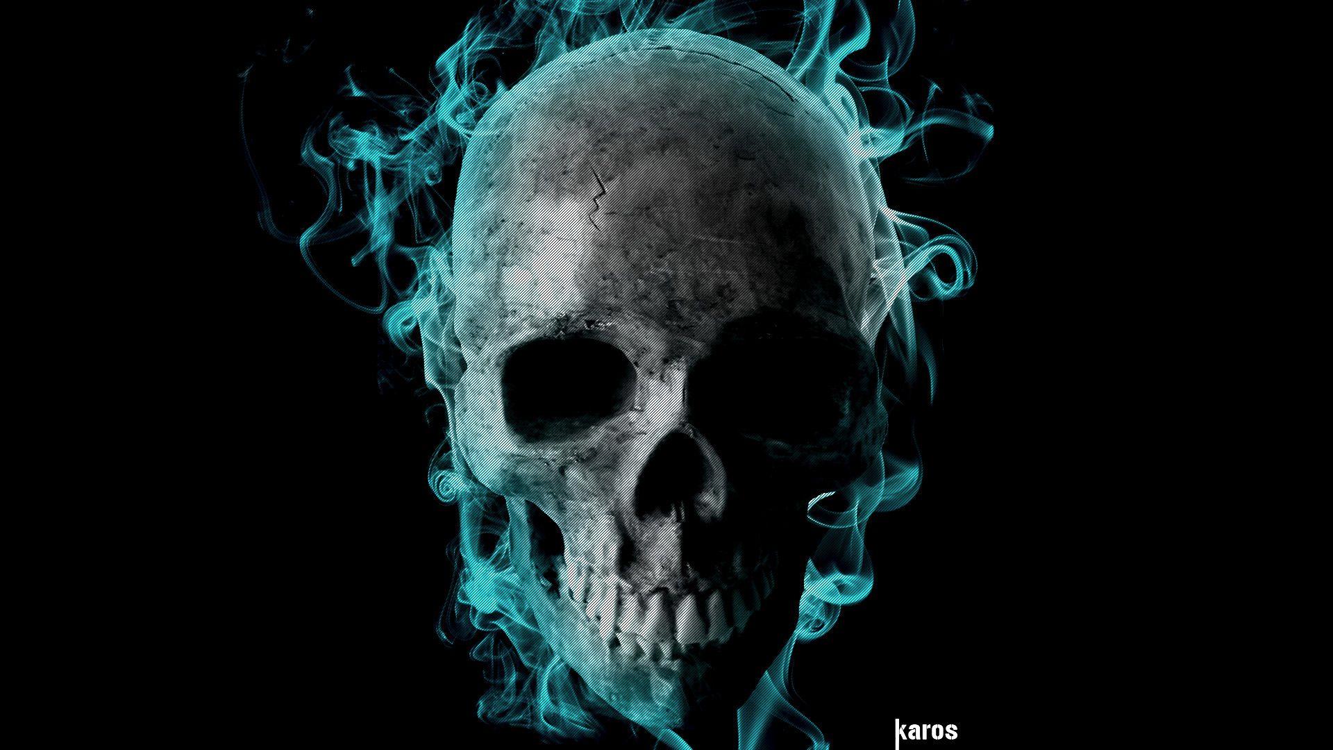 dark skulls Google Search Skull wallpaper, Skull