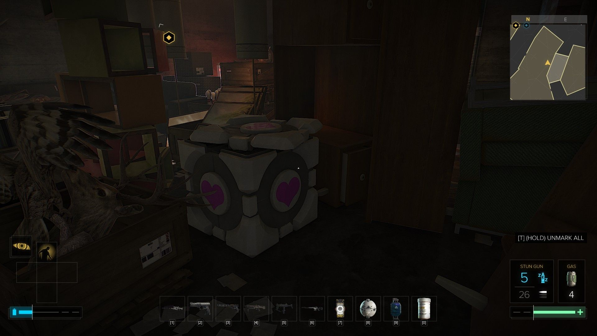 Portal 2 Easter Egg I found in the New Deus Ex #gaming