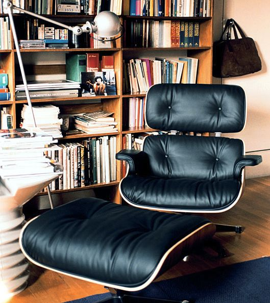Behind the Scenes, as the Famed Eames Lounger Is Made