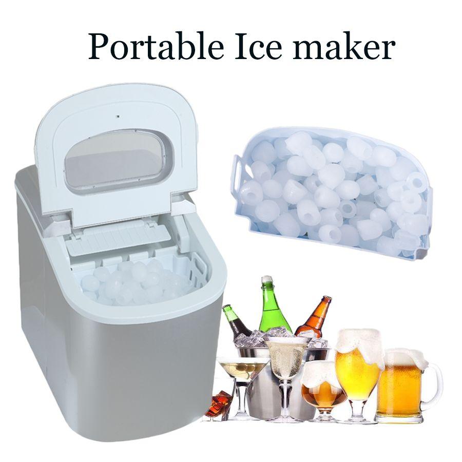 Smad 110 V Tragbare Mini Eismaschine Eiswürfelmaschine Hohe ...