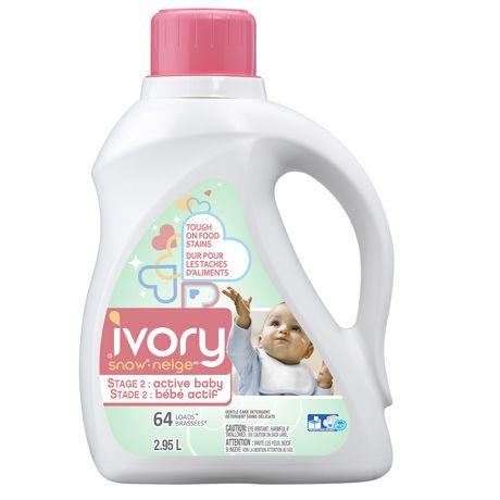 Ivory Snow Stage 2 Active Baby Liquid Detergent Hec Baby