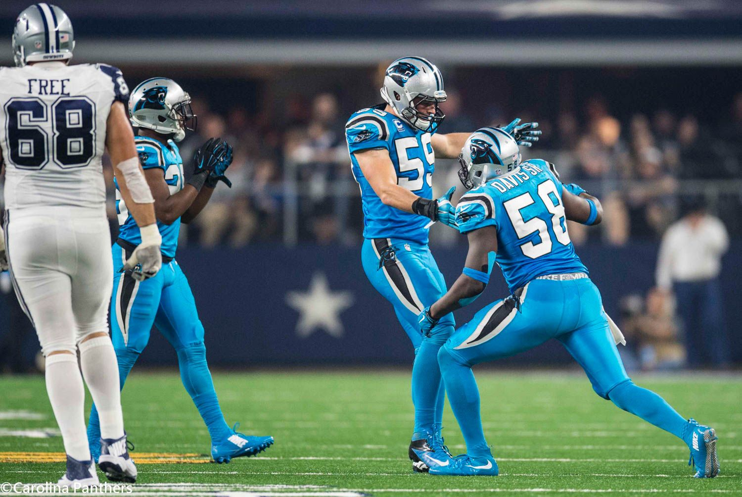 separation shoes 050bf 2a63a These two...#58 & #59! Color Rush, Thanksgiving Day, Dallas ...
