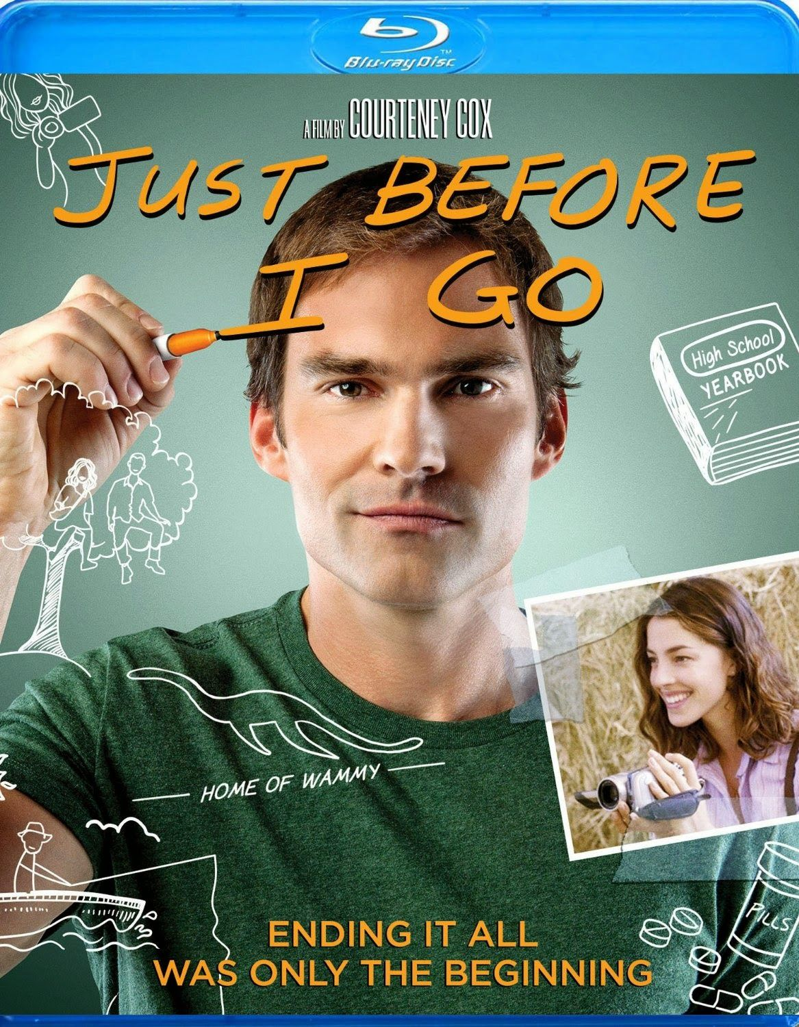 Dvd Blu Ray Just Before I Go 2014 Dvd Blu Ray New Movies