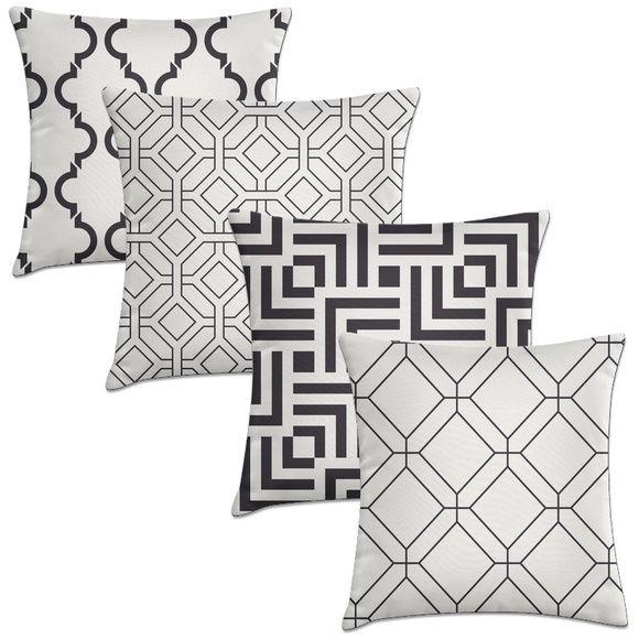 almofada decorativa Kit 4 capas – Geométricas - kombigode store. parcelas em até 12x nos cartões de crédito. frete para todo Brasil.clique e confira