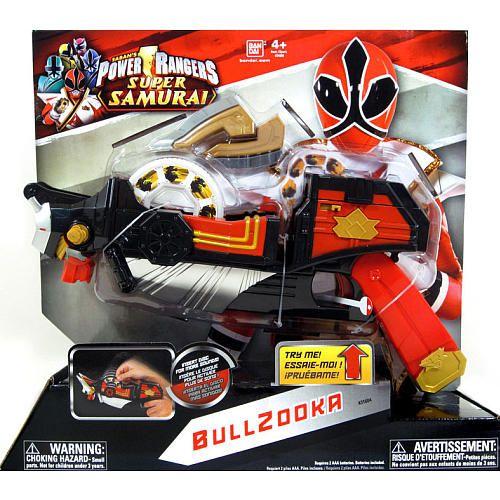 Power rangers samurai deluxe battle gear bullzooka bandai toys r us coloriages enfants - Power ranger samurai dessin ...